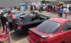 The SuperTuner6 event at Brimell Toyota in Toronto. This year drew 162 registrants, a significant increase over previous events.
