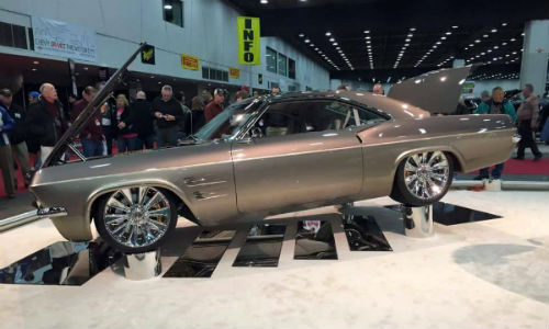 The 2015 Ridler winner, by Chip Foose, will be on display at BASF's booth at NACE.