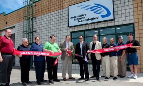 BASF cuts the ribbon on new Automotive Refinish Technologies Centre