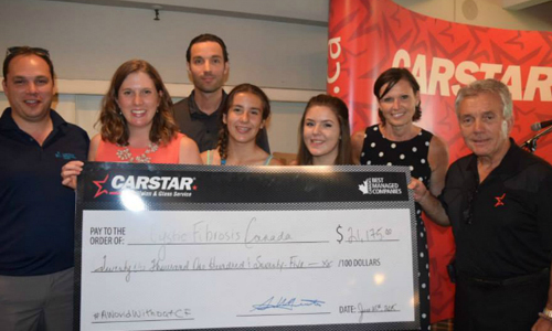 CARSTAR raises over $21,000 for CF Canada at annual Charity Classic