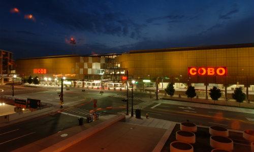 Detroit's COBO Center.