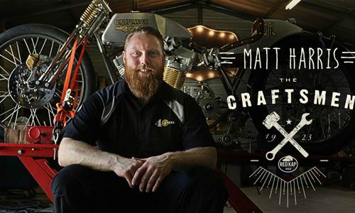 Matt Harris next custom builder to be profiled in 'The Craftsmen'