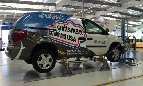 Craftsman Collision has recently opened its first store in the US.