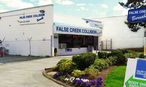 The premises of False Creek Collision. The facility experienced a fire over the weekend.