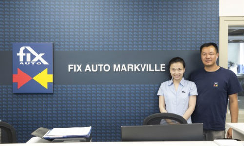 Joanne and John Ye Shen, owners of Fix Auto Markville.