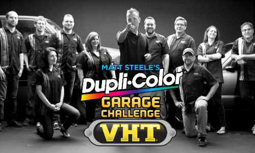 Dupli-Color, VHT team up for 'Garage Challenge' YouTube series