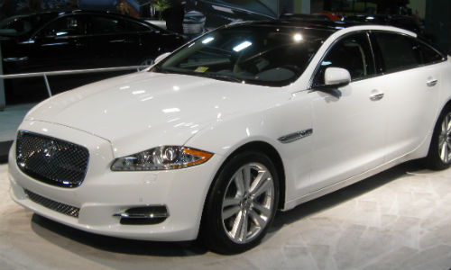 Aluminum-heavy cars, such as the Jaguar XJ, are popular with China's elite.