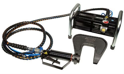 The PNP90 rivet gun from Chief Automotive. According to Jeff Sanford, Staff Writer for Collision Repair magazine, operation is simple enough that even journalists can use it with minimal instruction.