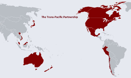 Signatories to the TPP include some of the world's largest economies, including Canada, the US and Japan.