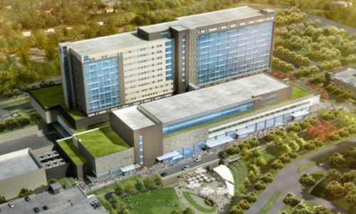 The new Humber River Hospital in Toronto.