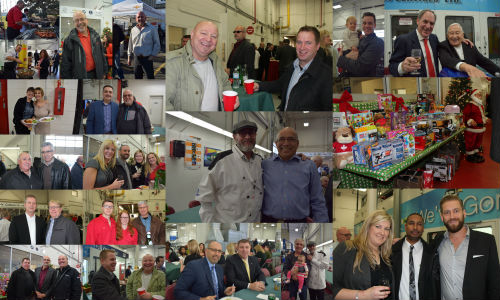 A selection of photos from the 2015 Christmas lunch at Budds' Collision Services. Check out the gallery below for more!