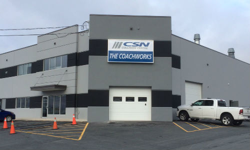 CSN-The Coachworks in Halifax. The facility will be purchased by CSN-Keizer's.