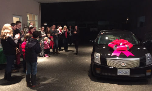 CSN-Superior Collision recently refurbished a Cadillac as part of the Acoat Selected Benevolence Program. The car was given to Nicole Beaumont during a special presentation at CSN-Superior Collision.