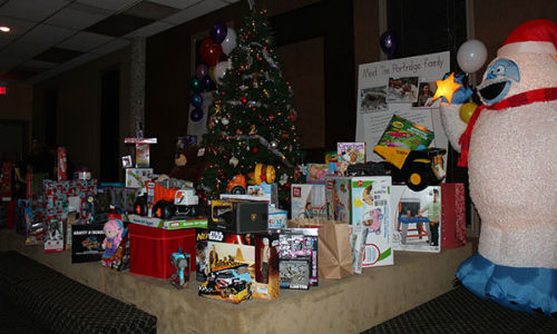 Some of the toys collected during the 2015 Rondex Christmas Party. Check out the gallery below for more photos from the event!