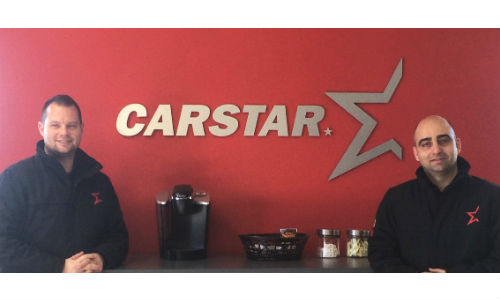 Franc Cundari and Greg Kelly of CARSTAR Orangeville Appraisal Centre.