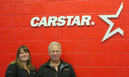 Tina and Stan Van Basten, owners of CARSTAR Victoria (Pre-Tech Collision).