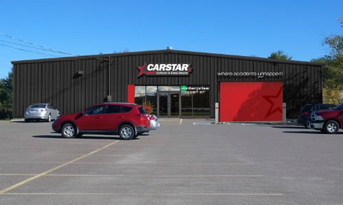 The exterior of CARSTAR St. Stephen in New Brunswick.