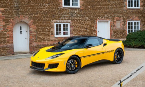The new Lotus Evora Sport 410 is constructed with a carbon fibre body. They're only making 150 of these, and we don't want to even think about the price tag.