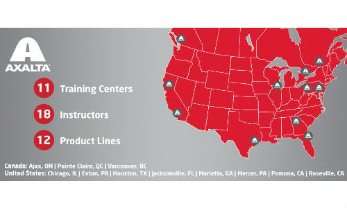 Axalta has recently launched the Axalta Learning Campus in Canada. The web portal allows repairers to take courses online and to register for courses at the Axalta Learning and Development Centers.