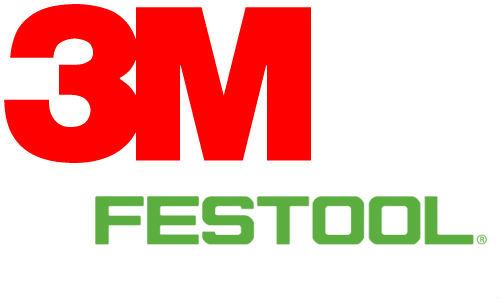 3M and Festool logos.