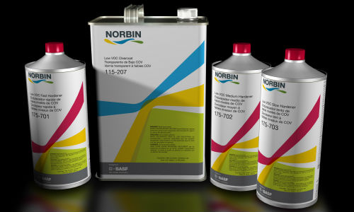 BASF has launched Norbin primers and clears.