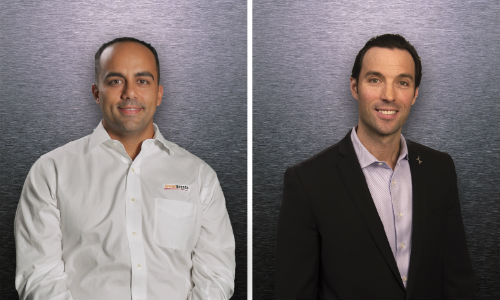 Jose Costa of Driven Brands and Michael Macaluso, newly-minted President of CARSTAR North America.