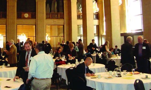 Conversations spring up around One King West during the first-ever Canadian conference on autonomous vehicles. The topics raised during the conference will continue to reverberate throughout the transportation sector.