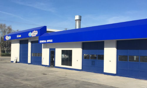 Craftsman Collision in Rutland, British Columbia. The new facility is Craftsman Collision's fourth body shop in the Okanagan Valley.