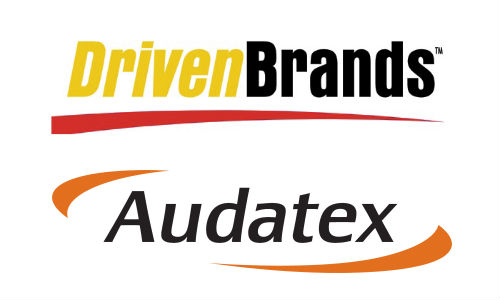 Driven Brands and Audatex logos