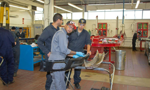 Apprenticeship numbers are rising in Ontario, according to the latest statistics. Photo courtesy of Centennial College.