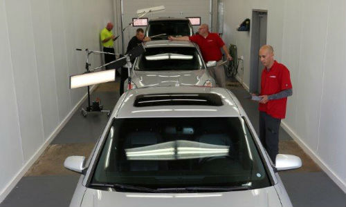 Canadian Hail Repair's new locations are retail operations focusing on appraisals.
