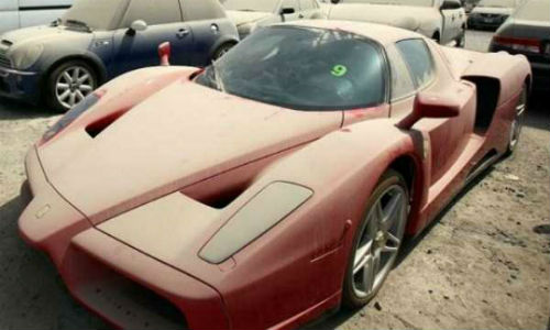 It's a sad sight, but it's increasingly common in the UAE. A report indicates that these high-end vehicles are being abandoned by expats fleeing criminal charges related to debts.