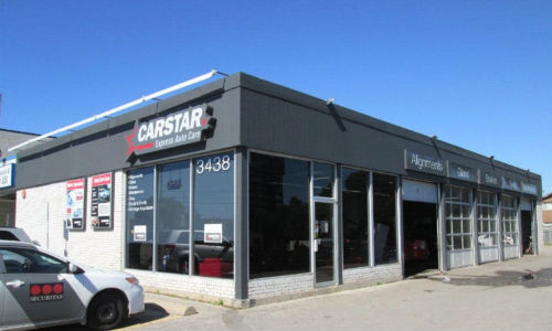 CARSTAR North York Sheppard is relocated to CARSTAR Express Sheppard (above).