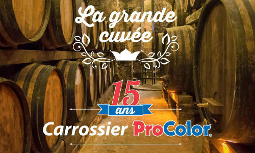 """Carrossier ProColor celebrates its 15th anniversary this year, with the theme of """"The Grande Cuvée."""""""