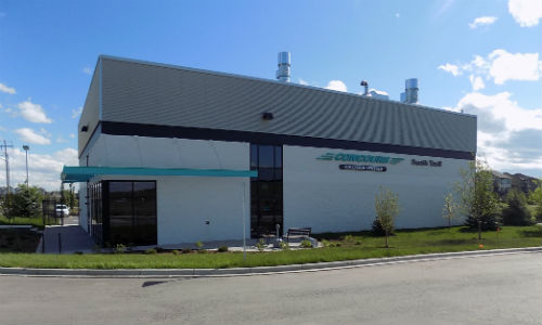 The new Concours Collision Centres location is a 6,800 sq. ft. purpose built facility.