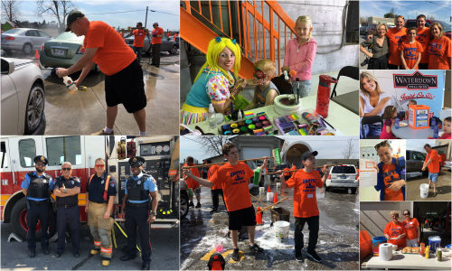 A selection of photos from Dante's Puddle Jumper charity car wash at Waterdown Collision. Check out the gallery below for more!