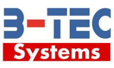 B-TEC logo.