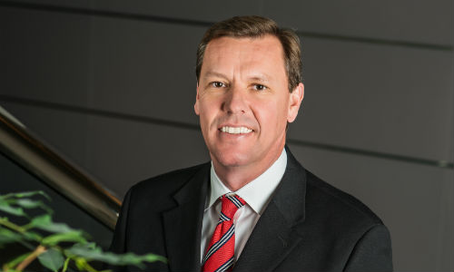 Steve Grimshaw, CEO of Caliber Collision. Grimshaw took over leadership of the company in 2009.