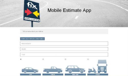 Car Repair Estimate App >> Customer Connection Fix Auto Launches Mobile Estimating App
