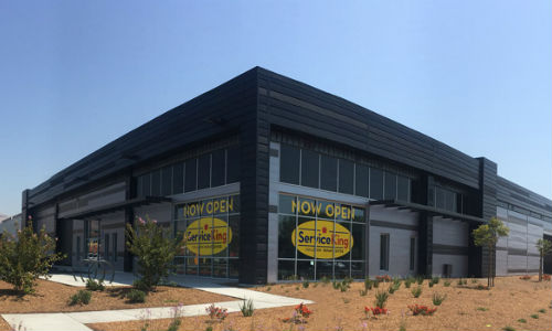 Service King's new 70,000 sq. ft. shop in California.