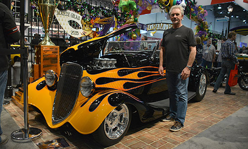 The hugely popular Battle of the Builders will return to the SEMA Show for a third straight year this November. Pictured above, the 2015 Battle of the Builders winner Bobby Alloway with his 1933 Ford Roadster.