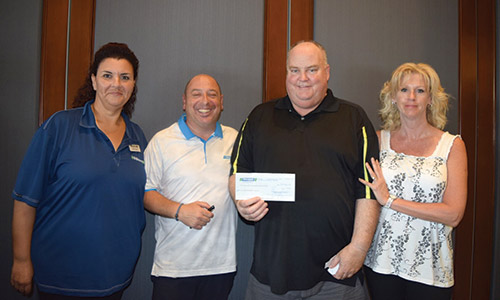 Discount Car and Truck Rentals raised over $8,000 for the Chase McEachern Tribute Fund at its 25th annual charity golf tournament. Check out more photos in the gallery below!