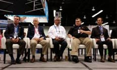 Several OEM representatives joined Collision Advice president Mike Anderson in discussing pre and post collision repair scanning in a special forum at NACE on Thursday.