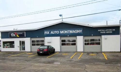 Fix Auto Montmagny, owned by André Chamberland. Chamberland has been working in the collision repair industry since 1988.