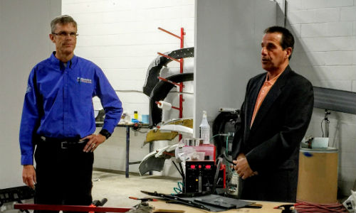 Kurt Lammon of Polyvance and Dan Dominato of Precision Marketing conducting the training session at Collision 360. Check out the gallery below for more photos!