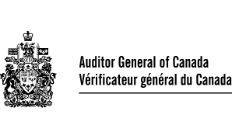 Auditor General of Canada logo.