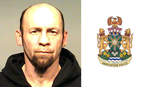 Abbotsford police officers attempting to arrest Dean Andrew Douglas Sykes at a rural property may not have gotten their man, but they did recover an estimated $100,000 in stolen property, primarily cars and trucks.