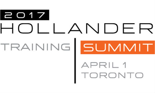 Hollander has announced it will hold six regional Training Summit events in 2017.