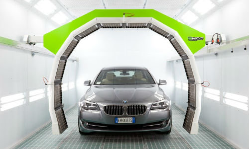 Bodyshop Revolution makes the Greentech gas catalytic drying system, shown here.