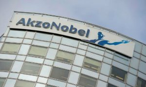 AkzoNobel's corporate headquarters in Amsterdam. The company has recently rejected a second proposal from PPG.